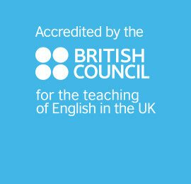 English language college accredited by the British Council.